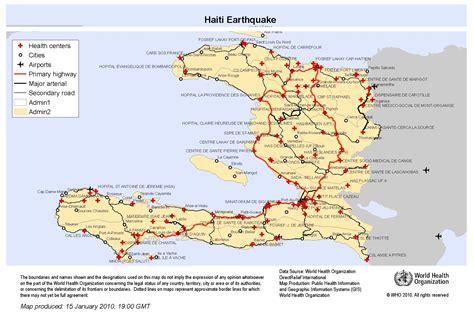 haiti map of cities maps haiti
