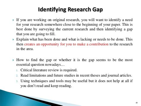 sample of significance of study in research paper workshop slides on research proposal and procedure 180415