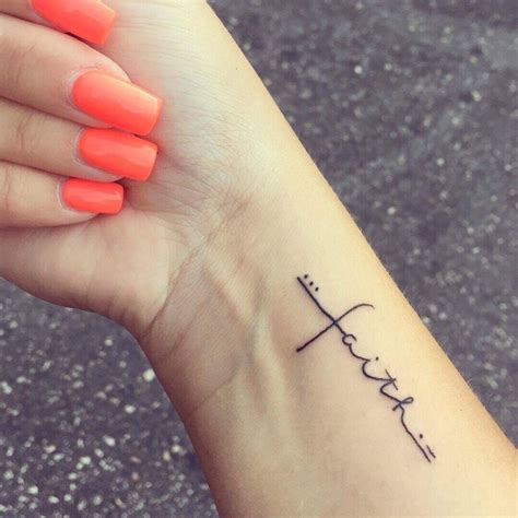 small faith wrist tattoos faith tattoos tattoos word tattoos