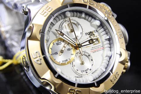mens invicta subaqua noma v sw500 swiss automatic gold