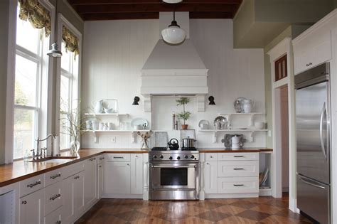 Kitchens Without Islands | this old church house kitchen update and this old church