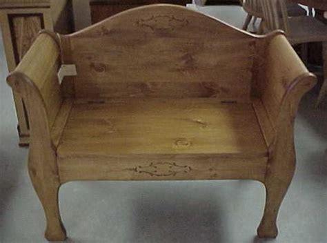 sleigh bench seat sleigh bench