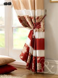 Gold Taffeta Curtains Jasmine Floral Embroidered Red Amp Gold Taffeta Lined Eyelet
