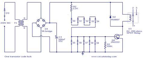 Transistor Relay Circuit Diagram