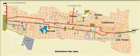 san jose printable map large san jose maps for free and print high