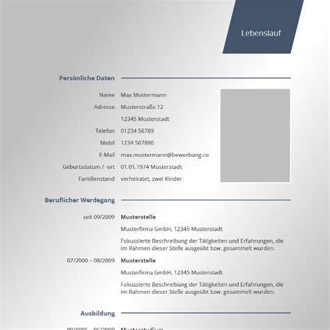 Tabellarischer Lebenslauf Beispiel Word Vorlage F 252 R Lebenslauf Lebenslauf