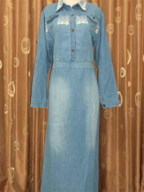 Listy Midi Dress Atasan Wanita Murah baju jean kadae grosir baju muslim murah baju muslim