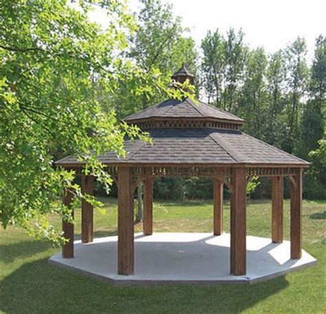 gazebo large large wood gazebos country gazebos