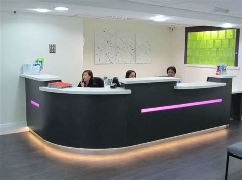 Dental Reception Desk Dental Reception Desks Dental Reception Refurbishment Free Design Visits Logos Colors And