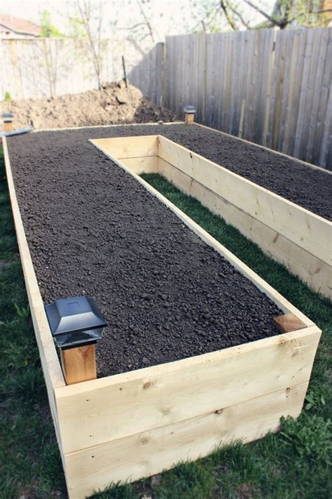 making raised beds step by step to build a u shaped raised garden bed and 11