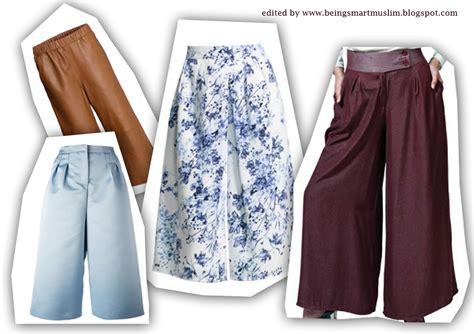 Celana Kulot Elif Be 1 tips memakai palazzo atau celana kulot trend 2015 being