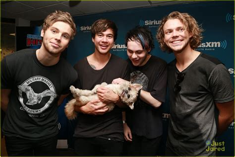 second of puppy 5 seconds of summer chill with marnie the at siriusxm photo 854992 photo