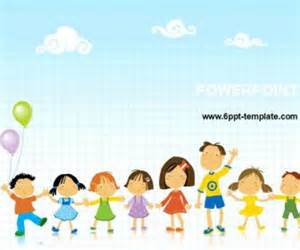 Powerpoint Template Children by Children S Day Free Powerpoint Templates