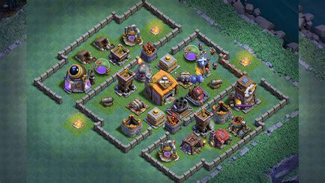 top 18 best builder hall bh6 base new anti 1 star builder base th4 design top 18 best builder hall 4 base