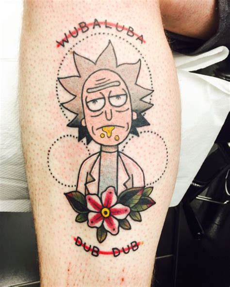 rick and morty tattoo 25 best ideas about tattoos on fox