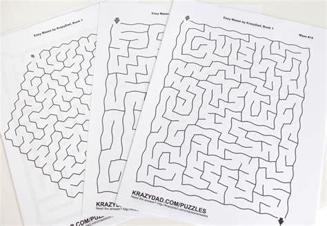 printable mazes krazydad busy binder with printable road trip games cutesy crafts