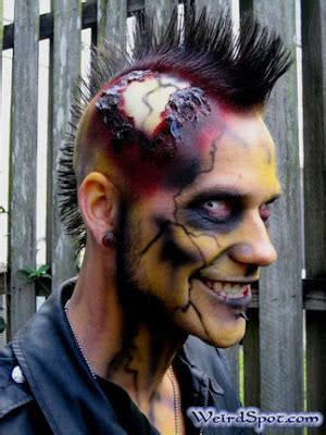 halloween punk hairstyles crazy short hair styles prom hairstyles