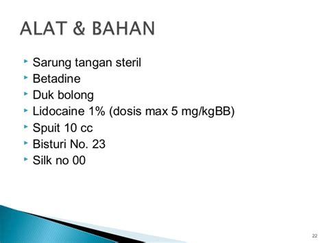 Duk Bolong Duk Operasi teknik operasi ctt regi