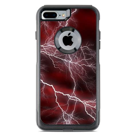 otterbox commuter iphone   case skin apocalypse red  gaming decalgirl