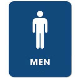 Mens Bathroom Sign Ada Compliant Mens Restroom Sign