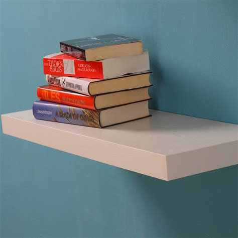 new venice floating wall shelf kit white 12 quot 24 quot 36