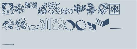 contemporary christmas ornaments volume fonts com
