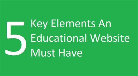 Marketing Education 5 by Digital Marketing For Education 5 Must Key Elements