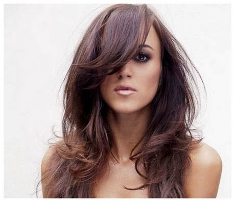 hairstyles bangs for long hair haircuts for girls with long hair and bangs