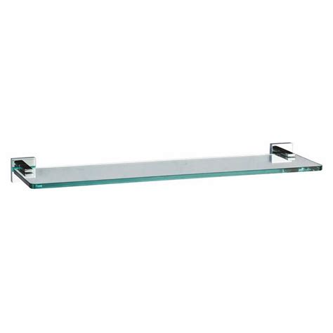 crosswater bathroom accessories crosswater zeya glass shelf ze001c crosswater bathroom