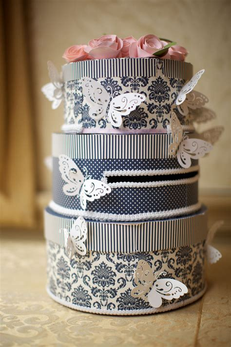 DIY Wedding Cake Card Box Tutorial   Create and Babble