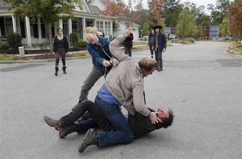 Walking Craze the walking dead review rick goes again the