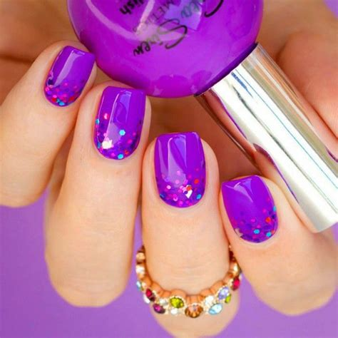 purple pattern nails the 25 best ideas about purple gel nails on pinterest