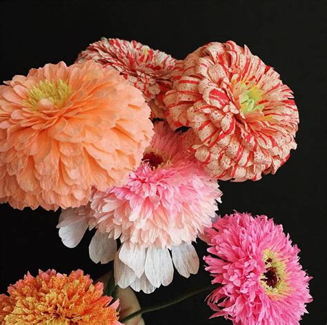 Flower With Papers - 26 paper flower artists to follow on instagram design sponge