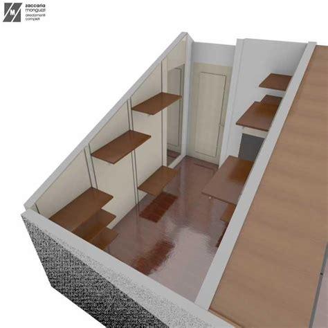 armadio mansarda fai da te cabina armadio in mansarda