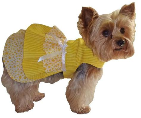 pattern for yorkie clothes ruffle dog dress pattern 1628 small medium dog