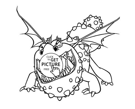 How To Train Your Dragon Coloring Pages For Kids How To Your Color Pages