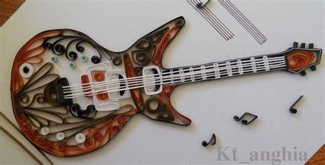 quilling guitar tutorial 132 best quilling images on pinterest paper quilling