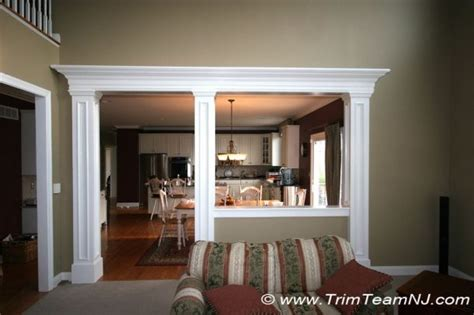 kitchen half wall ideas kitchen with half wall to playroom to trim half wall between kitchen and family room