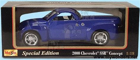 chevy ssr concept  maisto  scale diecast model