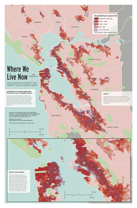 san francisco development map map where we live now 2010 household density and