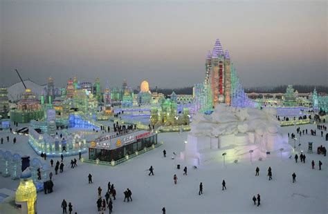 ice city harbin ice city magnificent ice festival travel all together