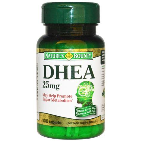Vitamin Nutrisi Dhea 25mg 100 Capsul buy natures bounty dhea 25 mg india chennai bodymart in