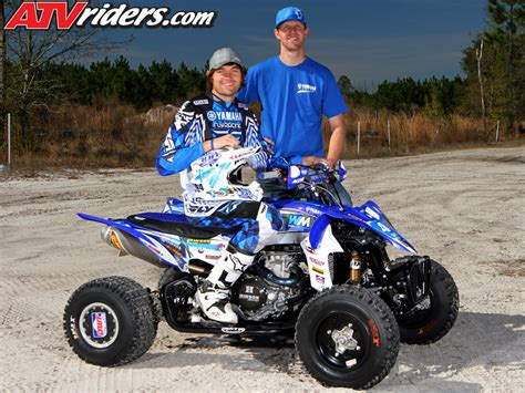 atv motocross racing yamaha s chad wienen wins ssqsa atv motocross season