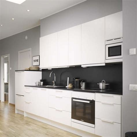 1000 ideas about black white kitchens on