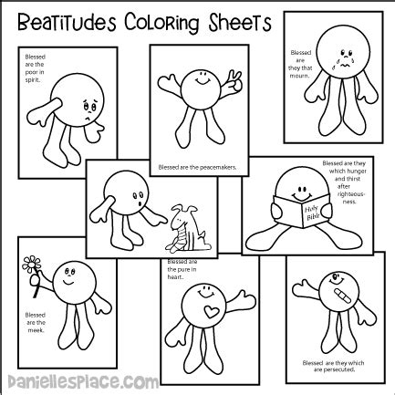 beatitudes coloring pages download beatitudes crafts and sunday school lesson for children