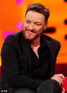 james mcavoy graham graham norton emerges fresh faced and hand in hand with