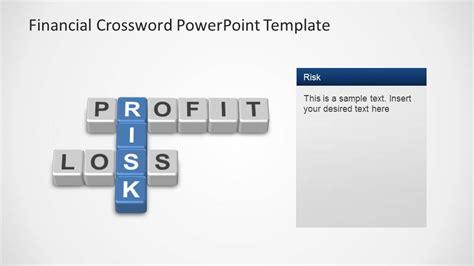 financial powerpoint templates financial crossword powerpoint template slidemodel
