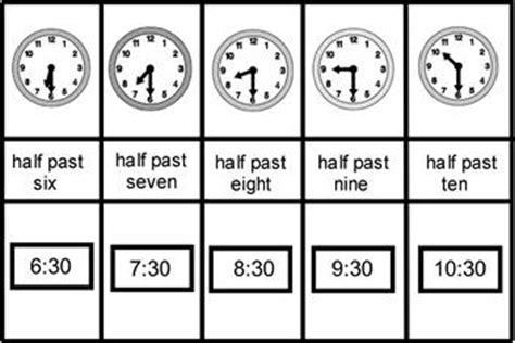 clock worksheets o clock and half past 16 best images of telling time worksheets half past