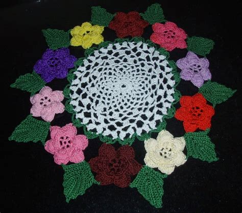 free patterns irish crochet irish rose crochet doily free crochet patterns