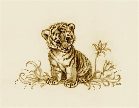 tiger and cub tattoo designs tiger cub 2 by esthervanhulsen on deviantart
